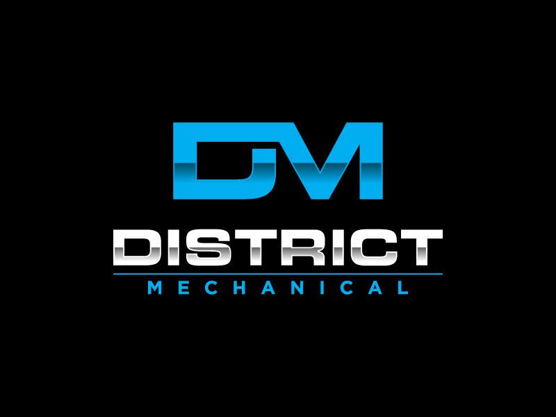 District Mechanical logo design by torresace