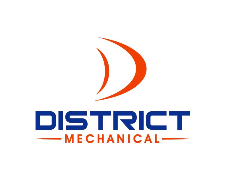 District Mechanical logo design by PMG