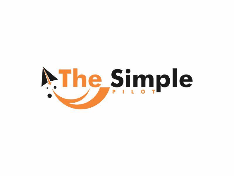 The Simple Pilot logo design by Toraja_@rt