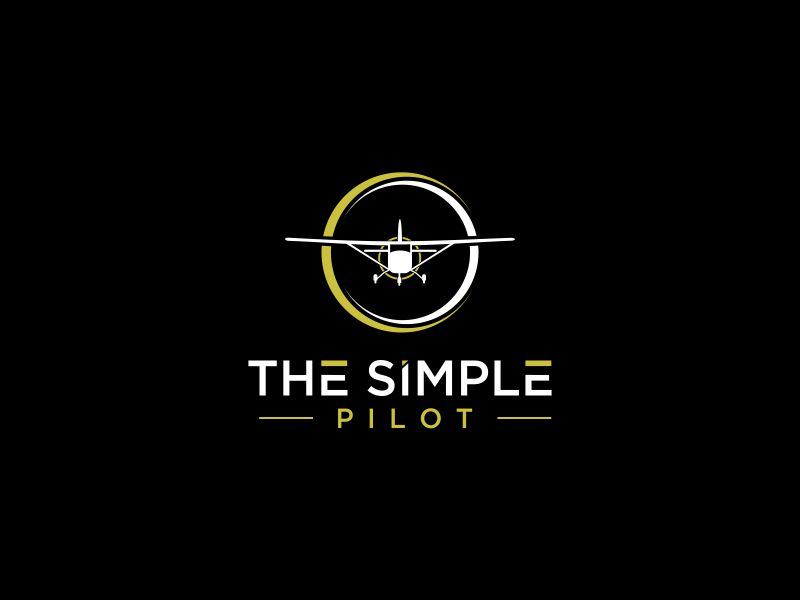 The Simple Pilot logo design by oke2angconcept