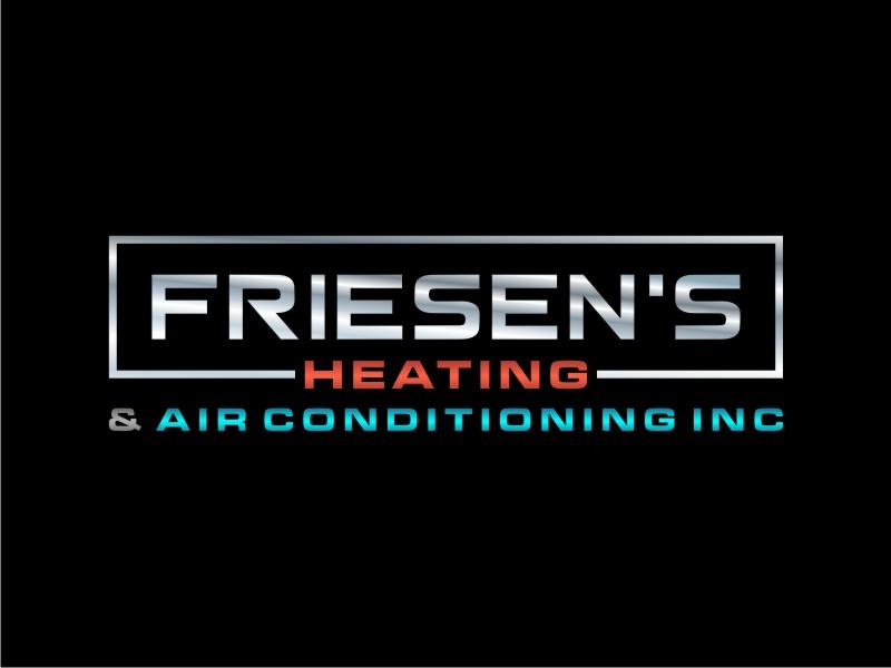 Friesen's Heating & Air Conditioning Inc logo design by Arto moro