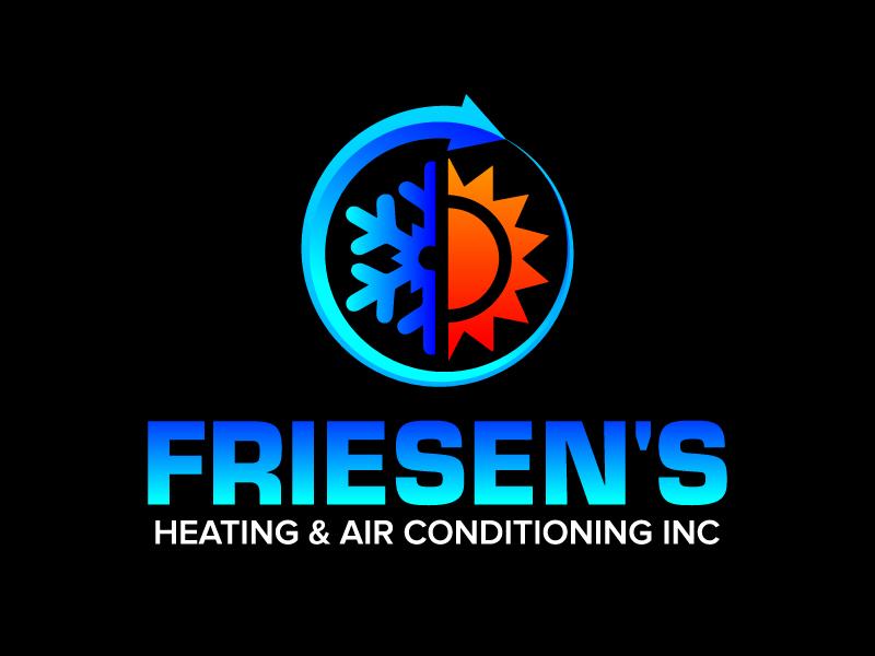 Friesen's Heating & Air Conditioning Inc logo design by jaize