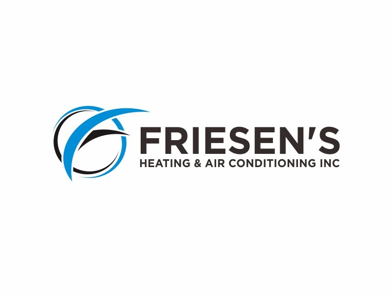 Friesen's Heating & Air Conditioning Inc logo design by Greenlight