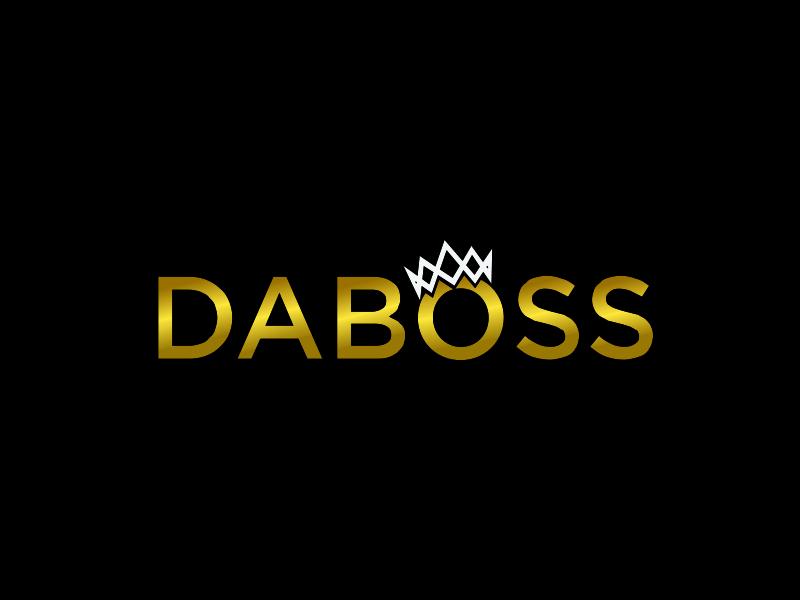 DaBoss logo design by santrie
