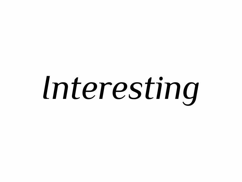 Interesting logo design by agus