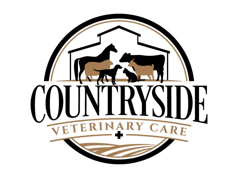 Countryside Veterinary Care logo design by jaize