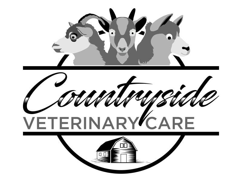 Countryside Veterinary Care logo design by savana
