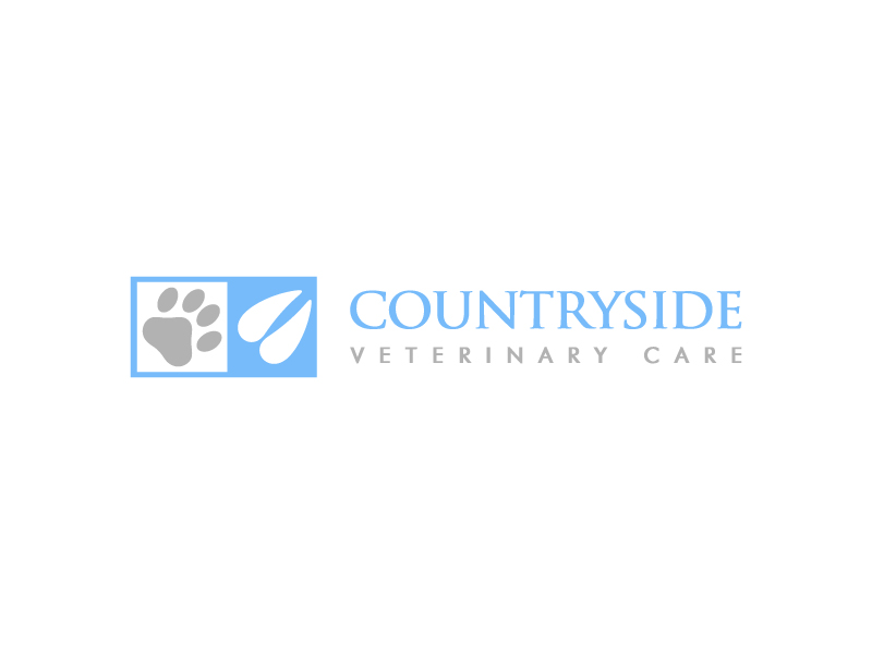 Countryside Veterinary Care logo design by pencilhand
