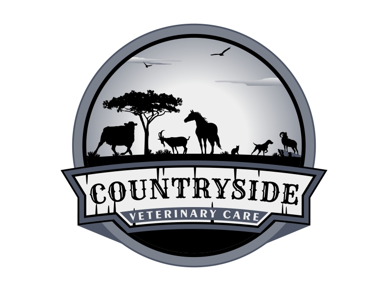 Countryside Veterinary Care logo design by Kruger