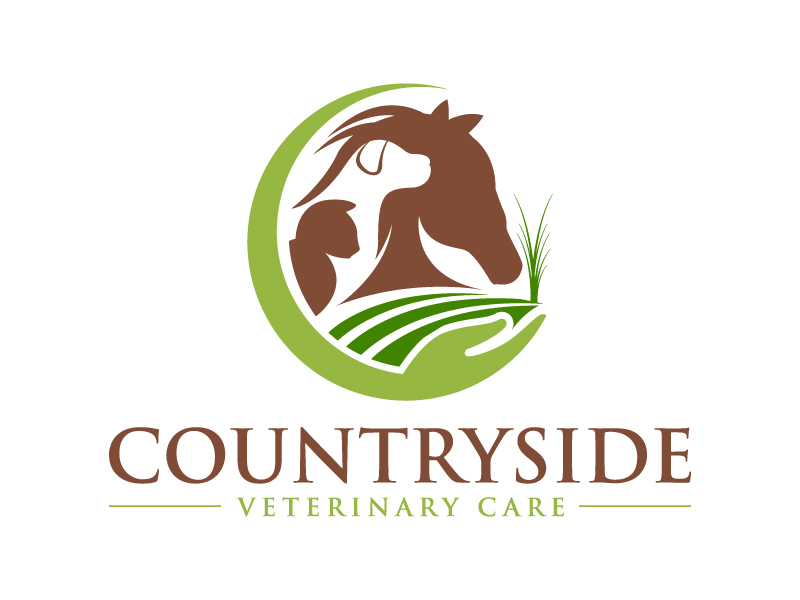 Countryside Veterinary Care logo design by MUSANG