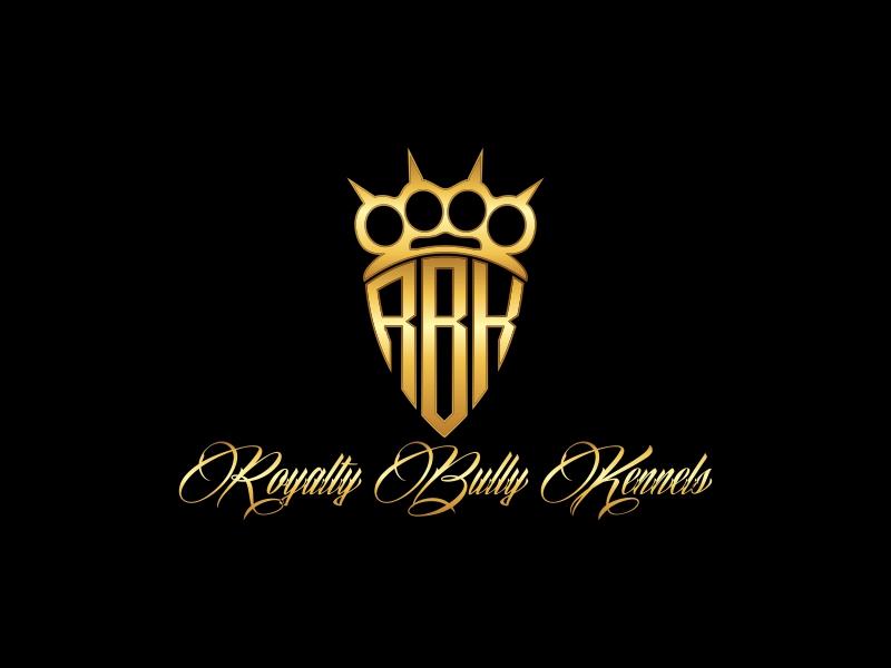 Royalty Bully Kennels logo design by haidar