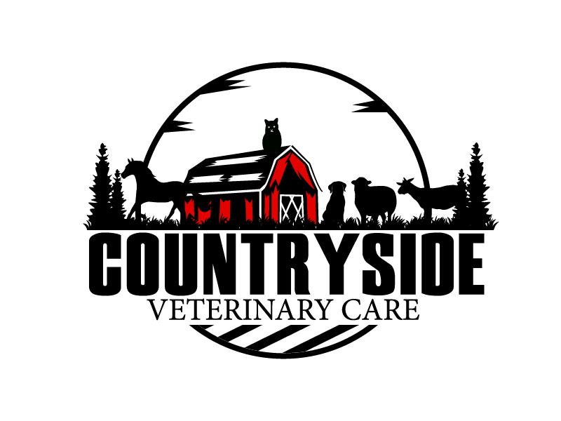 Countryside Veterinary Care logo design by Shailesh