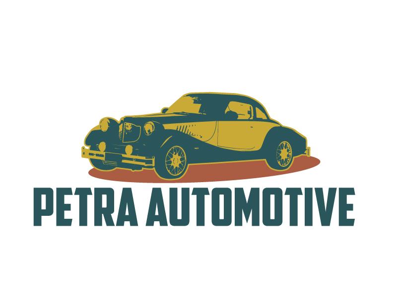 Petra Automotive logo design by ElonStark