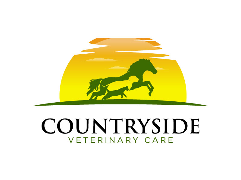 Countryside Veterinary Care logo design by torresace