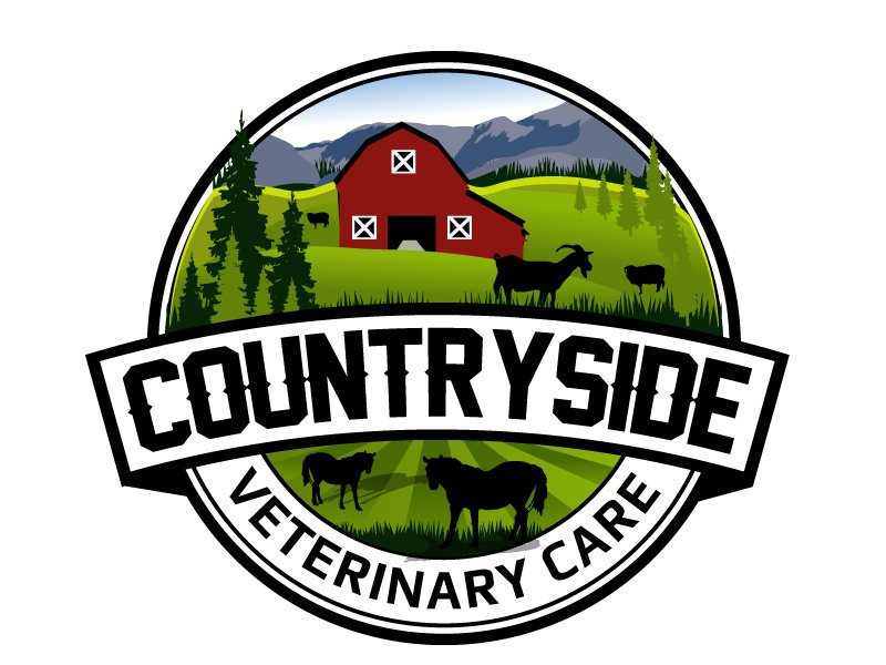 Countryside Veterinary Care logo design by LucidSketch