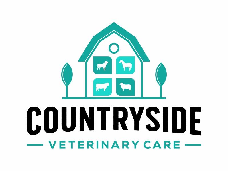 Countryside Veterinary Care logo design by Mardhi