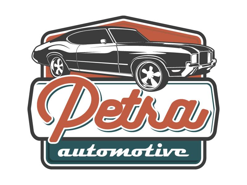 Petra Automotive logo design by daywalker
