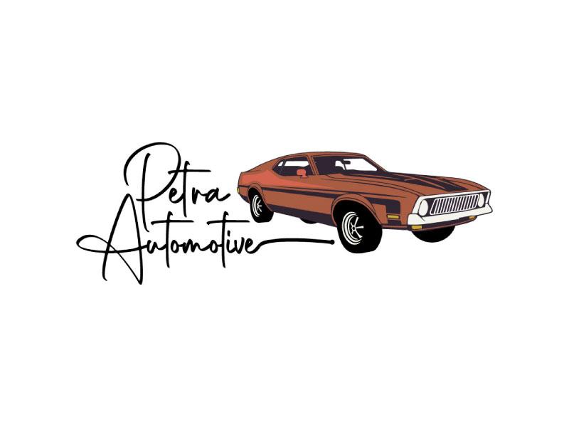 Petra Automotive logo design by nona