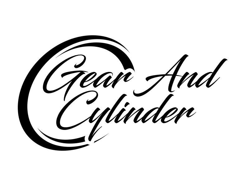 Gear And Cylinder logo design by Gwerth