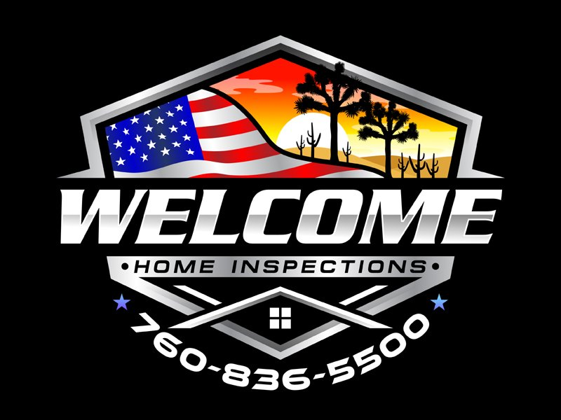 Welcome Home Inspections Logo Design