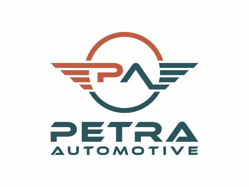 Petra Automotive logo design by y7ce