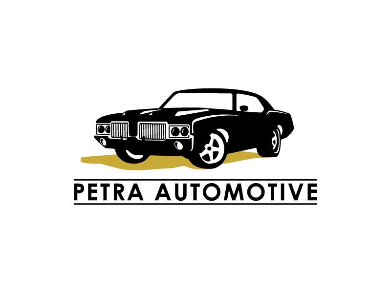 Petra Automotive logo design by japon