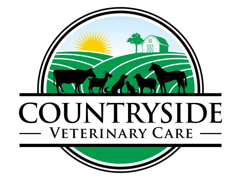 Countryside Veterinary Care logo design by agus