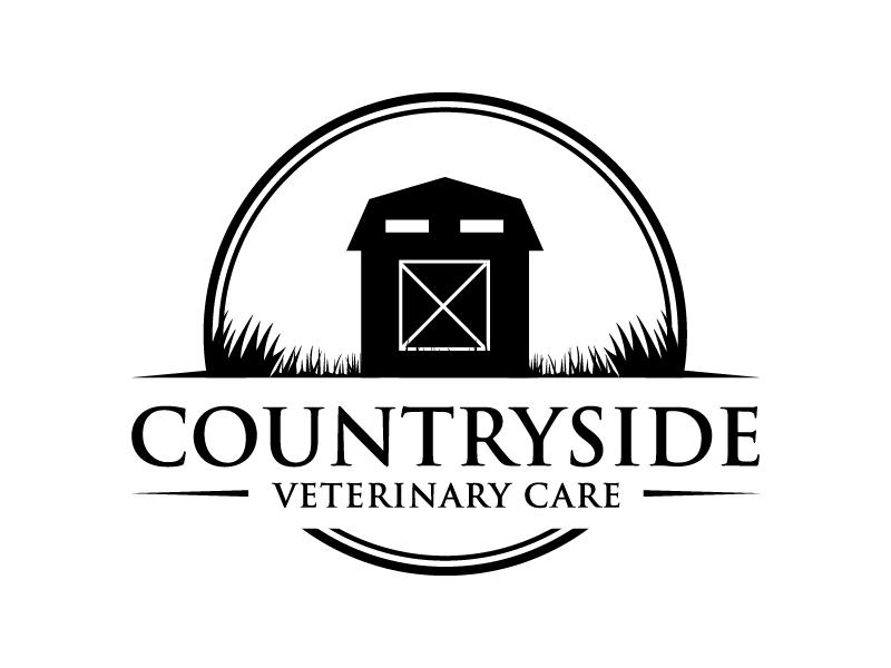 Countryside Veterinary Care logo design by jonggol