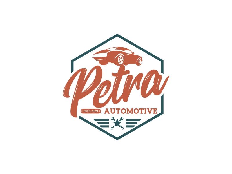 Petra Automotive logo design by SmartTaste