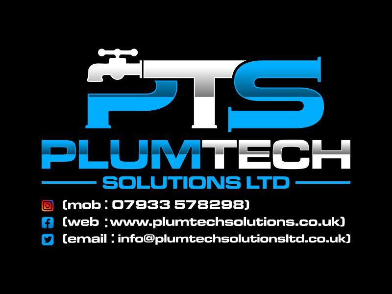 Plumtech solutions ltd Logo Design