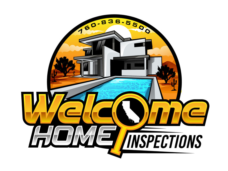 Welcome Home Inspections logo design by DreamLogoDesign