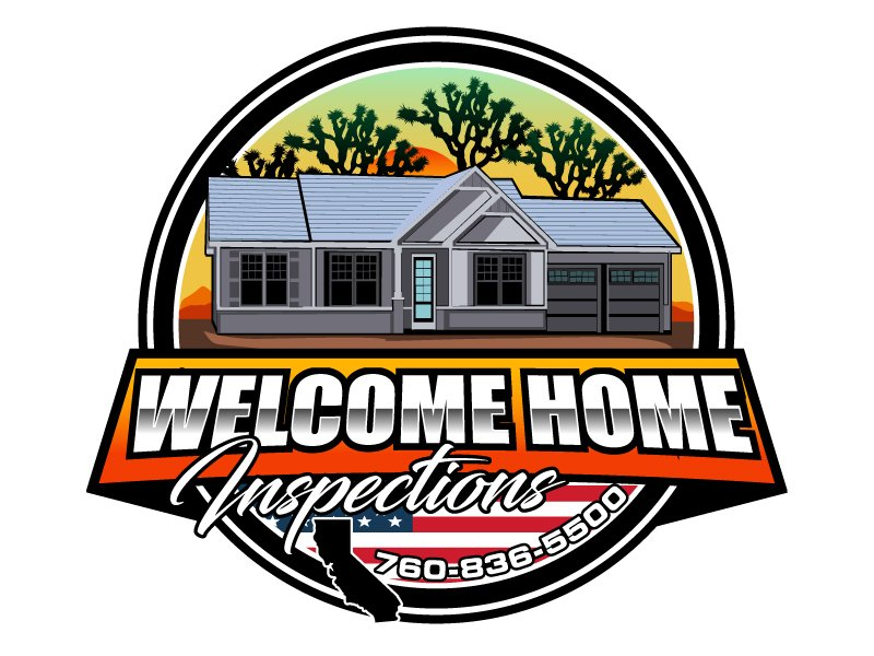 Welcome Home Inspections logo design by LogoQueen