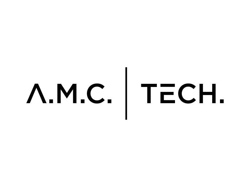 A.M.C.  TECH. logo design by Galfine