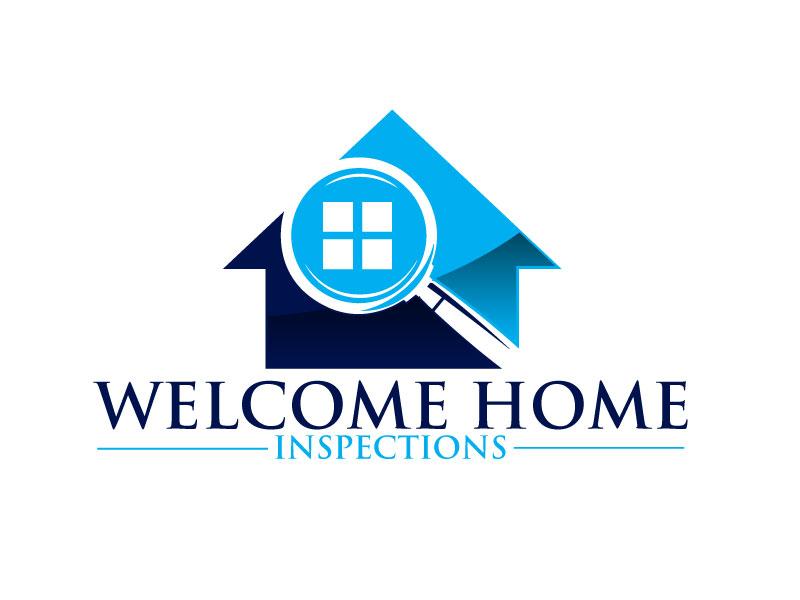 Welcome Home Inspections logo design by ElonStark