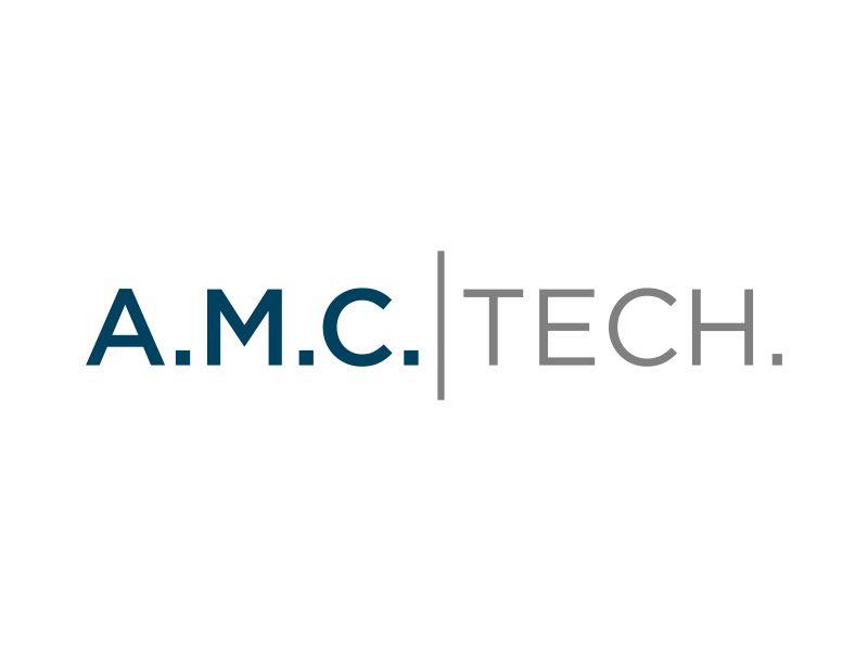 A.M.C.  TECH. logo design by p0peye