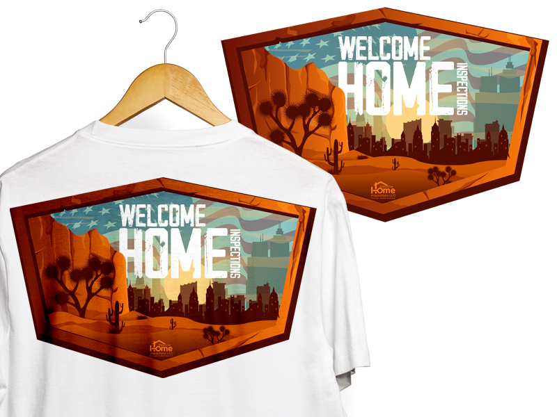 Welcome Home Inspections logo design by Ryan Prapta Putra