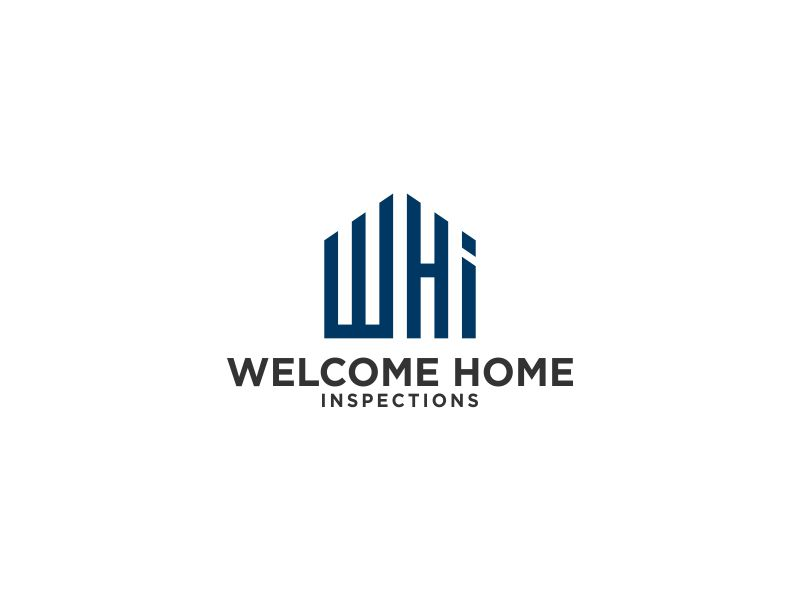 Welcome Home Inspections logo design by Orino
