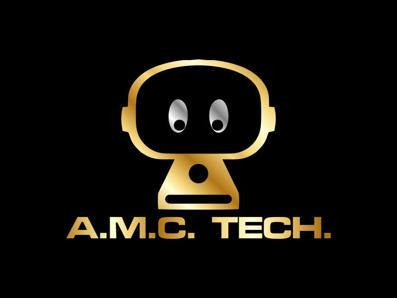 A.M.C.  TECH. logo design by Gwerth