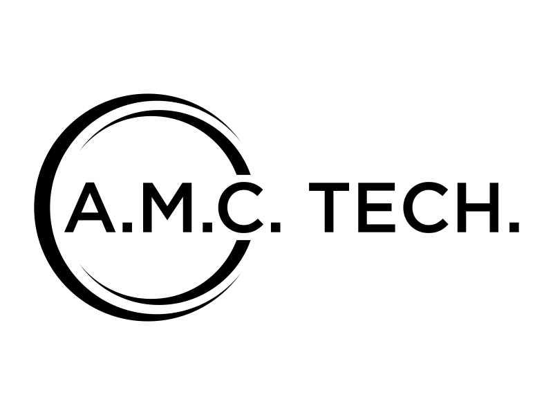 A.M.C.  TECH. logo design by Sheilla