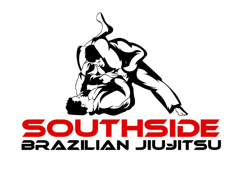 SOUTHSIDE BRAZILIAN JIU-JITSU logo design by ElonStark