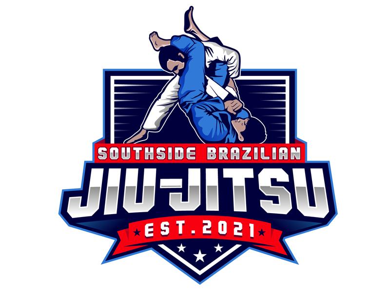 SOUTHSIDE BRAZILIAN JIU-JITSU logo design by DreamLogoDesign