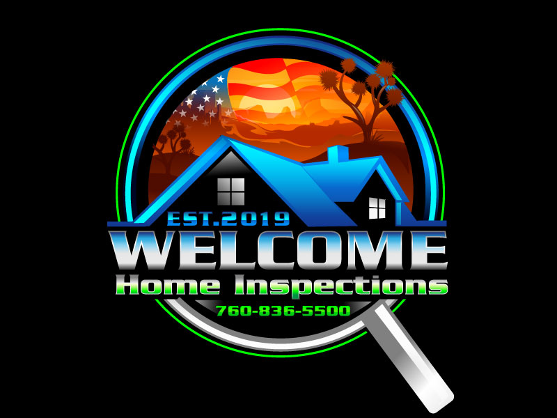 Welcome Home Inspections logo design by dorijo