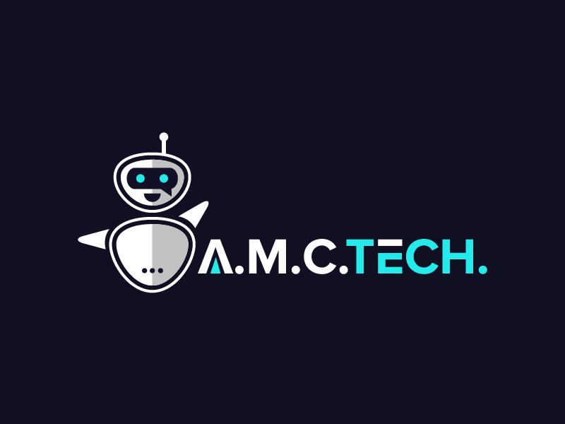 A.M.C.  TECH. logo design by czars