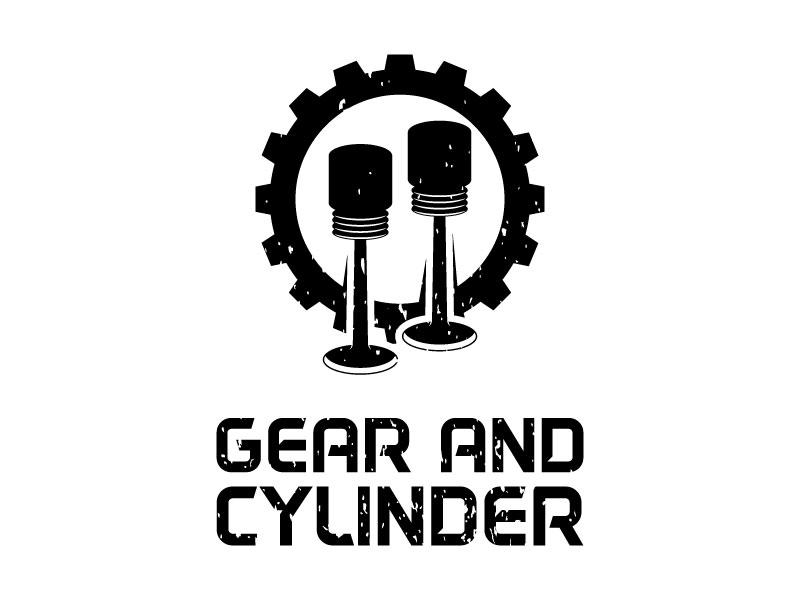 Gear And Cylinder logo design by torresace