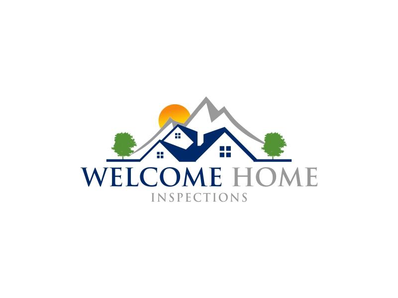 Welcome Home Inspections logo design by luckyprasetyo