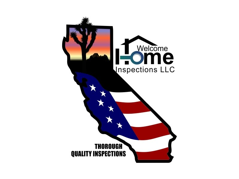 Welcome Home Inspections logo design by Dhieko