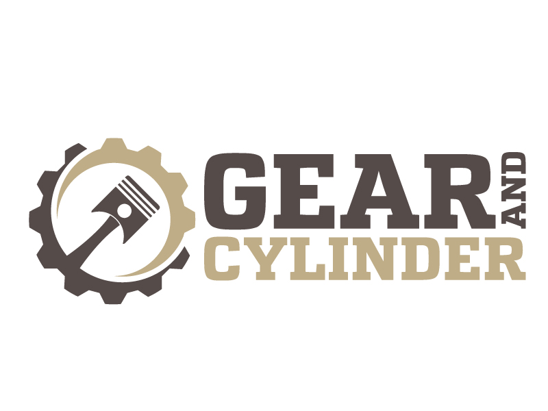 Gear And Cylinder logo design by jaize