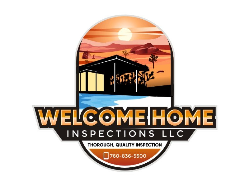 Welcome Home Inspections logo design by ramapea