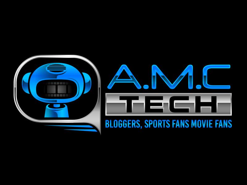 A.M.C.  TECH. logo design by DreamLogoDesign