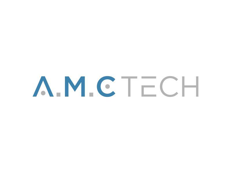 A.M.C.  TECH. logo design by mukleyRx